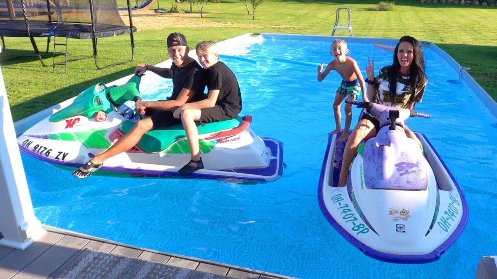 Szalony pomysł na zabawę nad wodą