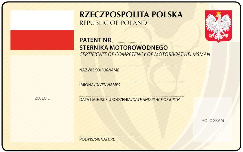 Wyrób Patent Sternika Motorowodnego i pływaj na skuterze, ciesz się wolnością